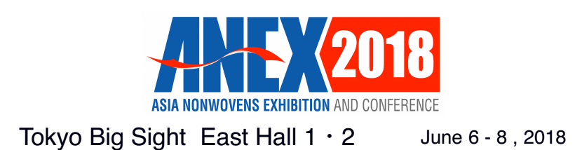 ANEX2018-ASIA NONWOVEN EXHIBITION AND CONFERENCE
