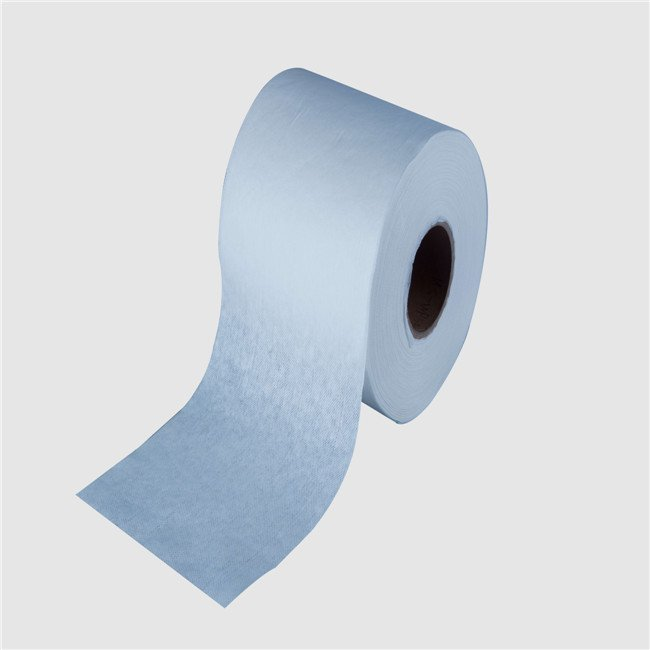 baby use wet tissues raw material woodpulp pp spunlace nonwoven fabric rolls