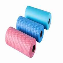 kitchen wash cloth raw material pulp spunlace nonwoven fabric rolls